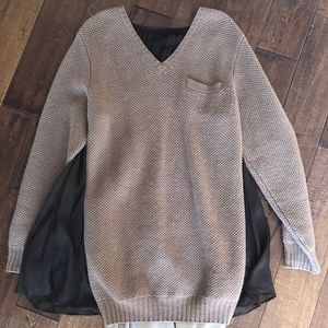 SACAI for Undercover wool sweater